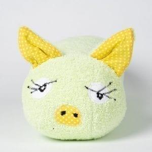 zelene okrasna blazina Zaspani Bor