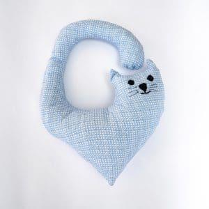 Cat neck pillow