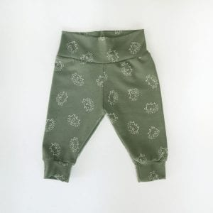 PANTS GREEN BEIGE