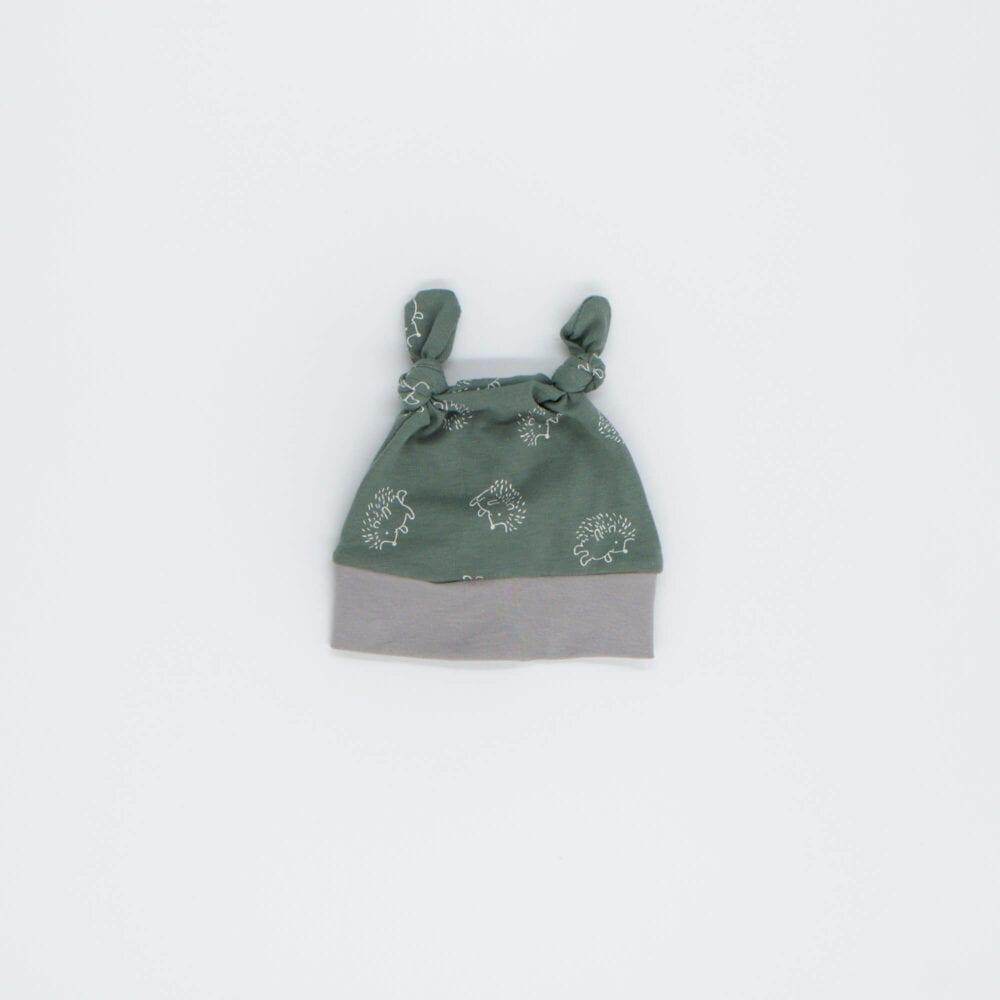 GREEN GRAY HAT HEDGEHOT