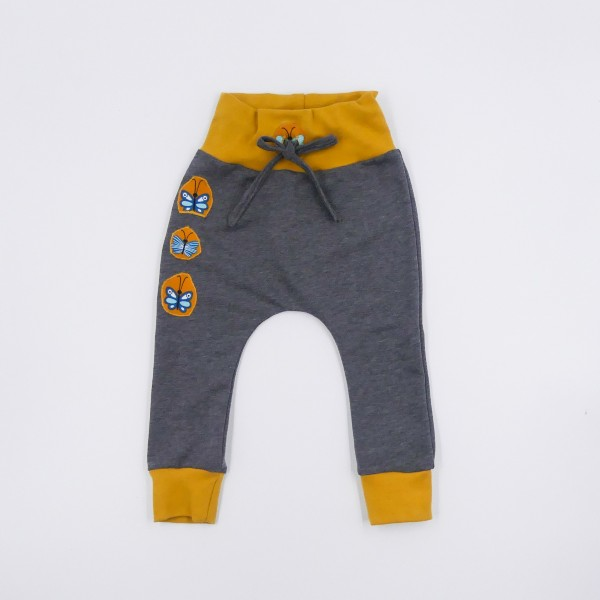 Baggy pants gray size 80